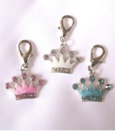 Flat Crown charms