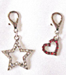 Star and Heart Charms