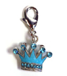 Blue Crown Charm